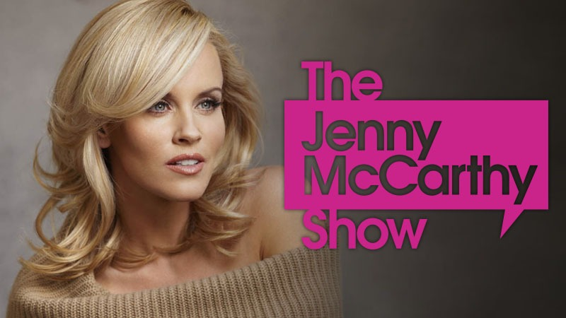 Jenny McCarthy Show April 25th at 8:20amPST/11:20amEST