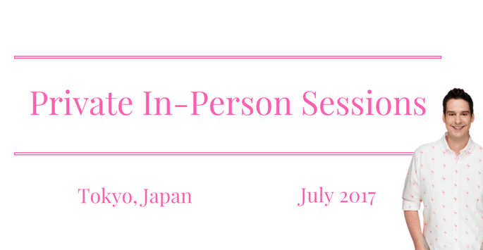 Tokyo In-Person Sessions July 2017